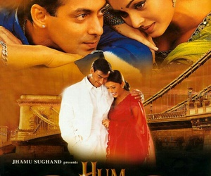 aishwarya rai, salman khan, and love this movie image