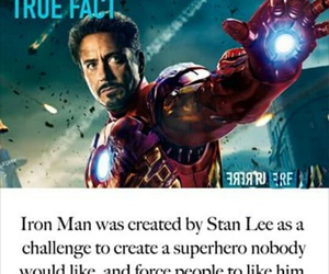 Avengers, fact, and iron man image