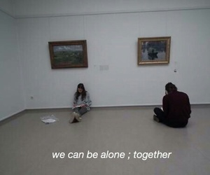 alone, boy, and girl image
