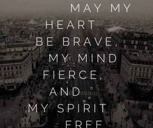 brave, quotes, and fierce image