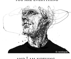black, everything, and nothing image