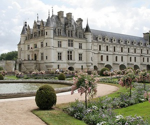 castle, garden, and architecture image