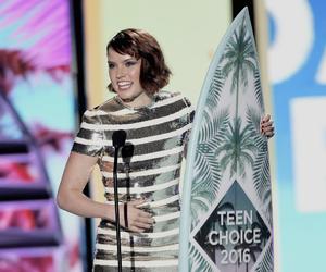 teen choice awards, star wars vii, and daisy ridley image