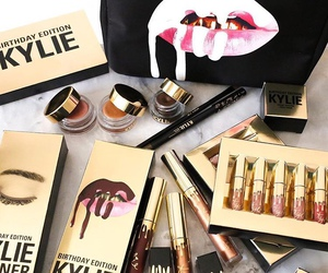 makeup, kylie, and kylie jenner image