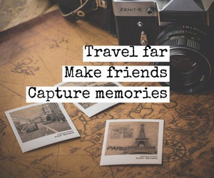 travel, memories, and friends image