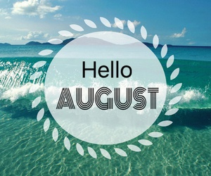 August, summer, and beautiful image