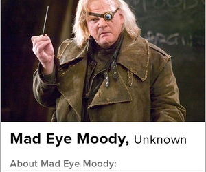harry potter, tinder, and mad eye moody image