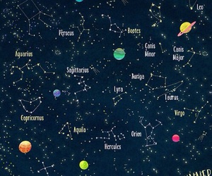 stars, constellation, and planets image