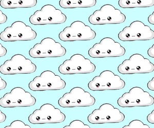 wallpaper and nubes image