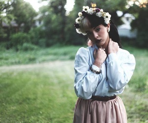 melanie martinez, crybaby, and flowers image