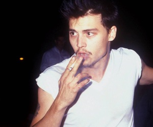 johnny depp, boy, and 90s image