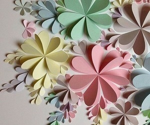 flowers, wallpaper, and Paper image