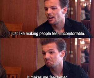 louis tomlinson, funny, and one direction image