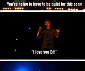 ed sheeran and funny image