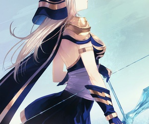 ashe, league of legends, and anime image
