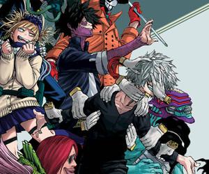 anime, my hero academia, and shouto torodoki image