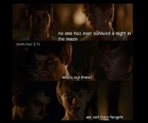 funny, thomas, and themazerunner image