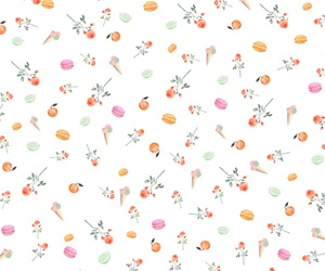 background, pattern, and ‎macarons image