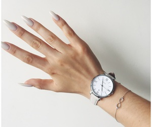 beauty, fossil, and long nails image