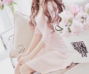 fashion, flowers, and kfashion image