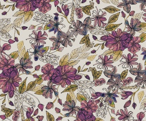 background, flower, and pattern image