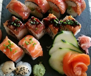 delicious, sushi, and sushi lover image