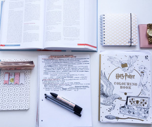 inspiration, study, and harry potter image