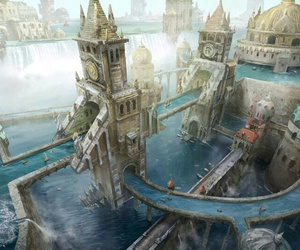 city and fantasy image
