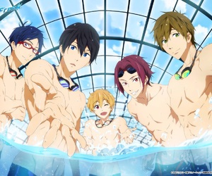 anime, rei, and free! image