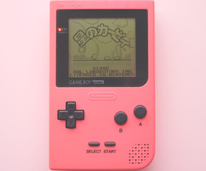 game, pink, and japan image