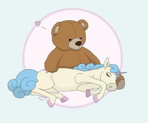bear and unicorn image