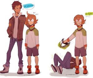 lance, pidge, and Voltron image