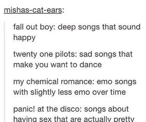 brendon urie, fall out boy, and FOB image