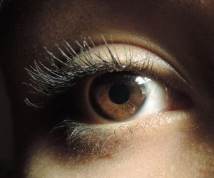 eye, brown eyes, and eyes image