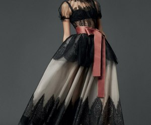 black, dress, and witch image