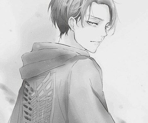levi, attack on titan, and anime image