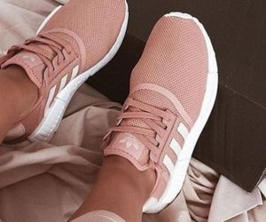 M and yzy boost blush sneaker image