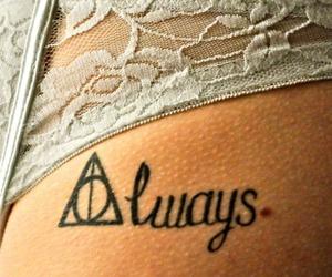 tattoo and tattoo harry potter image