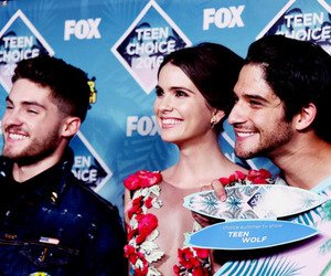 teen wolf, tyler posey, and shelley hennig image
