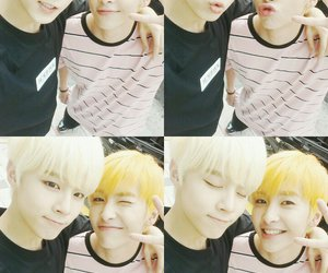 xiao, up10tion, and wooshin image