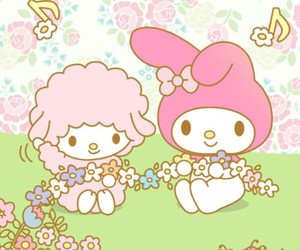 wallpaper, my melody, and cute image