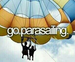 adventure, go, and parachute image