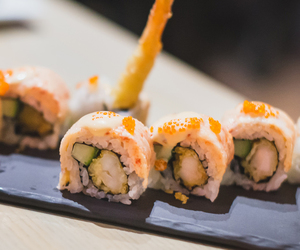 food, girly, and sushi image
