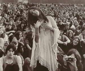 hippie and 60s image
