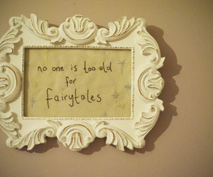 fairytale, vintage, and quote image