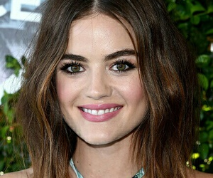 hair, lucy hale, and makeup image