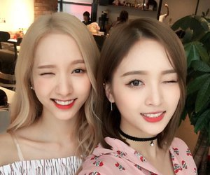 bona, wjsn, and cosmic girls image