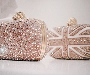 fashion, bag, and gold image