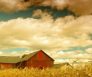 country and sky image