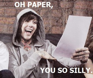 oliver sykes, band, and bmth image